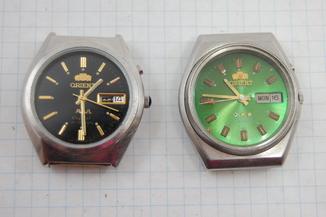 Часы Orient 2 шт. на реставрацию или запчасти