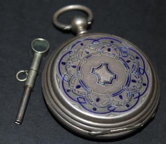 Швейцарские карманные часы Tobias Cеребро 84