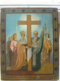 Икона Воздвижение Креста Господня
