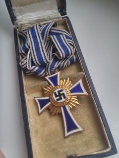 Крест немецкой матери 1 ст. в футляре