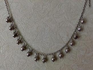 Ожерелье старинное ( серебро вес 61,600 гр )