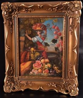Натюрморт ''Девушка с фруктами'' Европа
