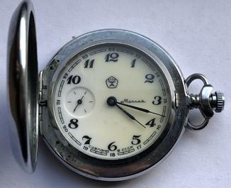 Карманные часы Молния (на ходу)