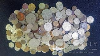 Монеты СССР разных годов + юбилейка