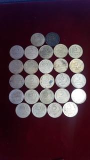 3 копейки без повторов с 1926 по 1991 (49 монет)года в фото