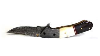 Cкладной нож. Дамаск.