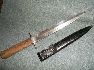 Люфтваффе. Окопный нож.