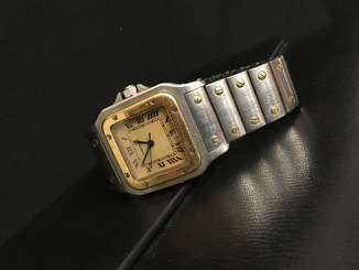 Cartier Santos steel / gold