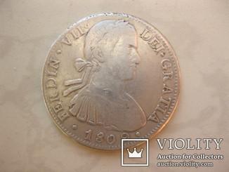 Испания - Мексика - 8 реалов - Фердинанд VII - 1809 год