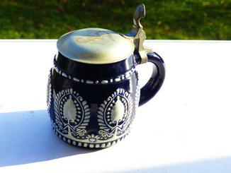 Пивной бокал старинный  - германия 1809