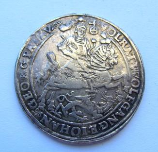 Талер 1623 р. Мансфельт