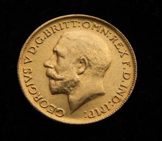 1 фунт (соверен) 1918 г.