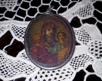 Иконка Казанской БМ серебро