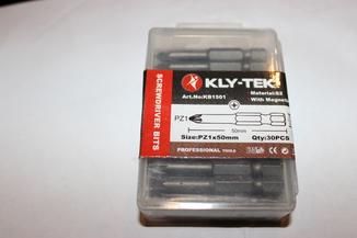 Биты KLY-TEK Pz1*50 - 30 штук