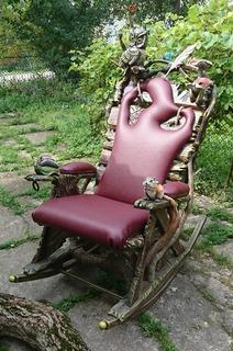 Крісло-качалка. Ручна робота.