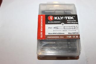Биты KLY-TEK Ph1*50 - 30 штук