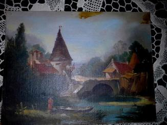 ,,Пейзаж в окрестностях Бове,, миниатюра