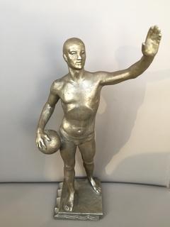 Скульптура. Спортсмен. Водное поло. Овсянников.