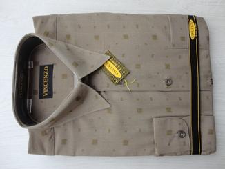 Мужские рубашки Vincenzo с длинным рукавом (разные размеры)