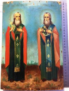 Икона Св.Харлампий Св.Власий