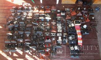 Лот : фотоаппараты, 69 шт