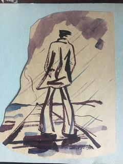 Несколько рисунков и эскизов одного неизвестного автора, Харьков, 1970-е