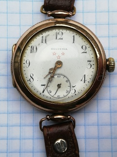 Часы helvetia полностью на ходу
