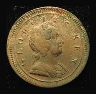 Великобритания 1/2 пенни 1724