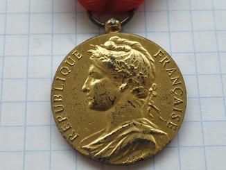 Медаль Франции 1976р