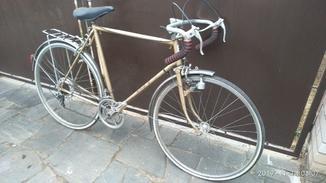 Вінтажний шосейний велосипед 40х. - 60х років