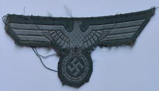 Кительный пехотный орёл М39. Вермахт.