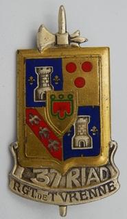 Франция. Полковой знак. 37-й пехотный полк.