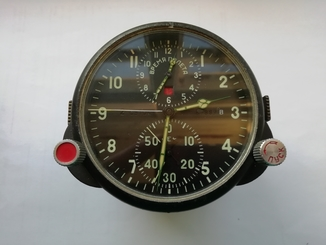Часы авиационные АЧС-1, с паспортом.