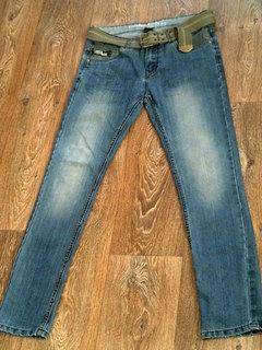 Gross Wind - стильные джинсы с ремнем