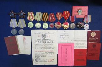 Комплект наград на подполковника интендантской службы