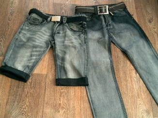 D&Gabbana - стильные джинсы(Турция)+шорты(Италия)