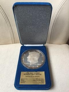 Монета 1996 Half Kennedy Half.999 вес 188 грамм