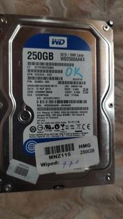 Винчестер, hdd western digital wd2500aakx на 250 gb