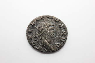 Gallienus plated AE Antoninianus
