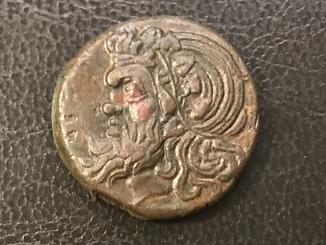 Пантикапей. Монета обол.
