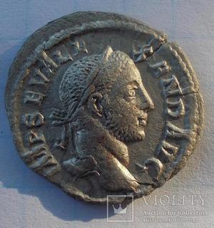Денарій Олександра Сєвєра(222-235)
