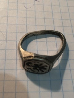 Серебренный перстень