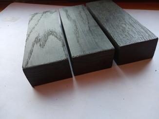 3 шт Мореный дуб загатовка 50x27x135mm для рукоядки ножа