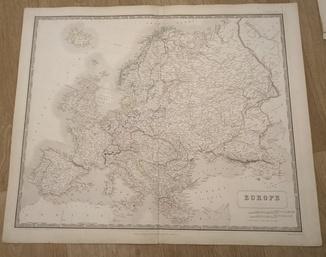1844 Европа Большая. Р.И. Украина. Крым.