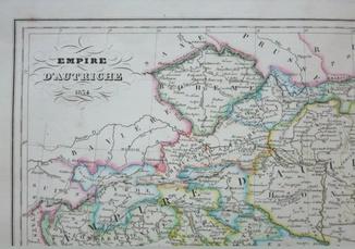 1834 Австрийская Империя. Галичина. Буковина. Львов