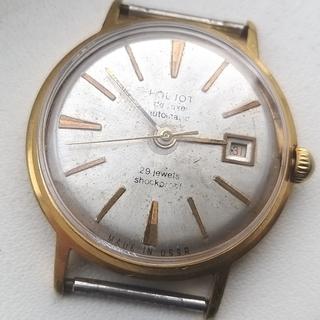 Часы Полет де люкс с числом.позолота AU20