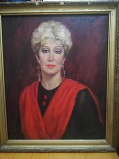 Такаева Венера Губайдуловна. Портрет женщины. 1995.