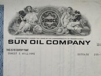 Акции Америки SUN OIL COMPANY