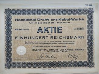 Акции, Германия, 1928г.