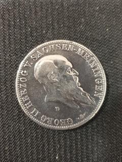 5 марок 1901 d Саксен-Майнинген